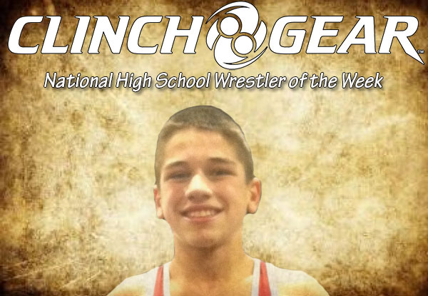 Clinch Gear Wrestler of the Week