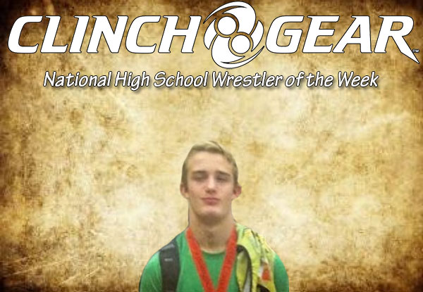 Clinch Gear National High School Wrestling of the Week