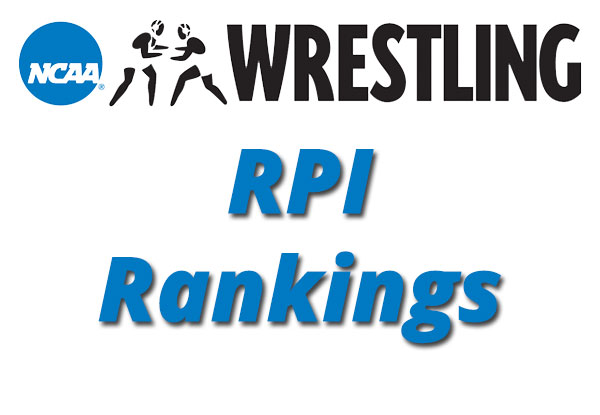 NCAA Wrestling RPI Rankings