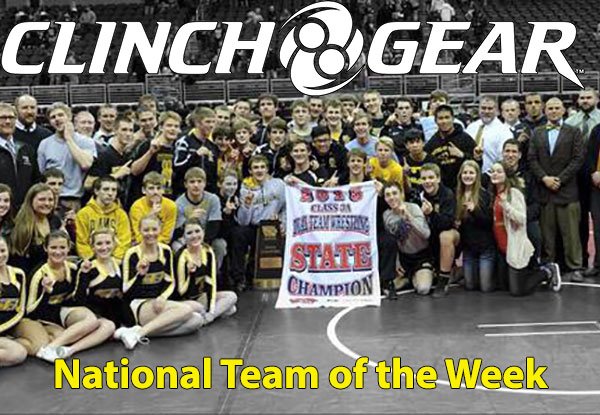 Clinch Gear National High School Wrestling Team of the Week