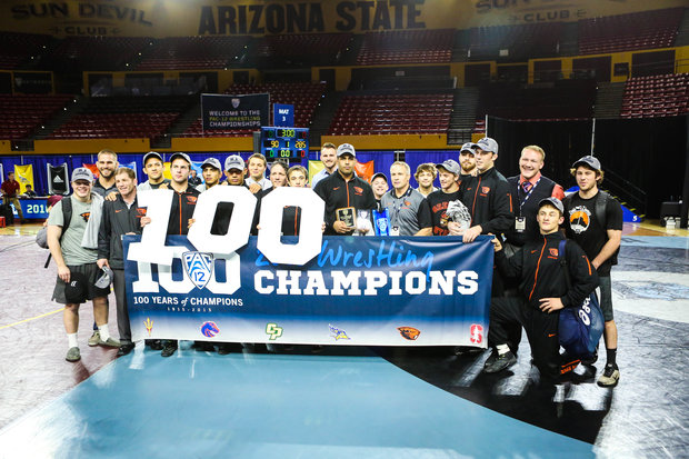 Pac-12 Champs Oregon State