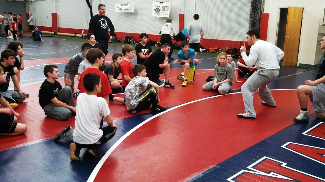Youth Wrestling Practice